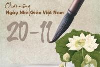 Hội giảng chào mừng ngày nhà giáo Việt nam 20 - 11