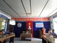 Hội nghị Chữ thập đỏ năm học 2020 - 2021