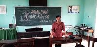 Khai giảng lớp dân ca