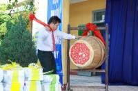 Lễ Bế giảng năm học 2014 - 2015 và Tổng kết liên hoan gặp mặt cuối năm của thầy và trò trường THCS Phan Bội Châu