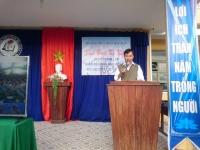 Lễ kỉ niệm ngày thành lập Quân Đội Nhân Dân Việt Nam 22/12 và phát thưởng giáo viên và học sinh đạt thành tích tốt trong các kỳ thi