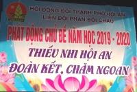 PHÁT ĐỘNG CHỦ ĐỀ NĂM HỌC 2019 - 2020