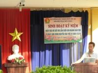 Sinh hoạt kỉ niệm ngày Bác Hồ gửi lá thư cuối cùng cho ngành giáo dục và ngày anh hùng Nguyễn Văn Trỗi Hi Sinh (15/10)