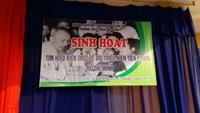 Sinh hoạt tìm hiểu kiến thức về đội thiếu niên tiền phong Hồ Chí Minh