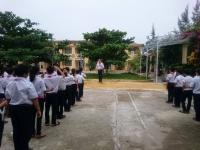 Tập huấn nghi thức đội cho khối 6 7