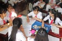 Trường Phan Bội Châu tổ chức hội giảng chào mừng kỷ niệm 88 năm ngày thành lập Đoàn TNCS Hồ Chí Minh