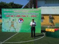 Trường TH Trần Quốc Toản Kết và THCS Phan Bội Châu đạt cúp vô định giải bóng đá học sinh