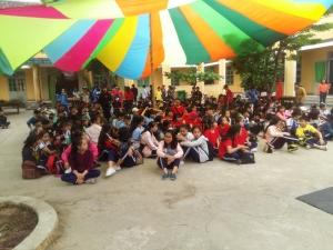 Hội trại 26 - 3 trường THCS Phan Bội Châu Năm học 2017-2018